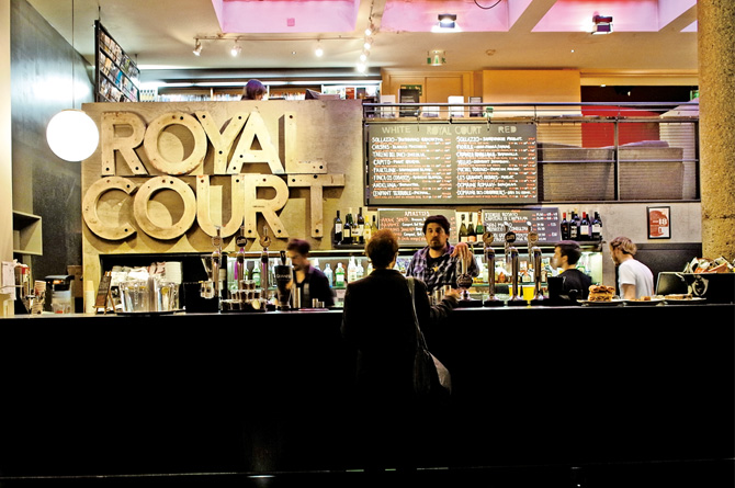 The Bar & Kitchen at The Royal Court Theatre