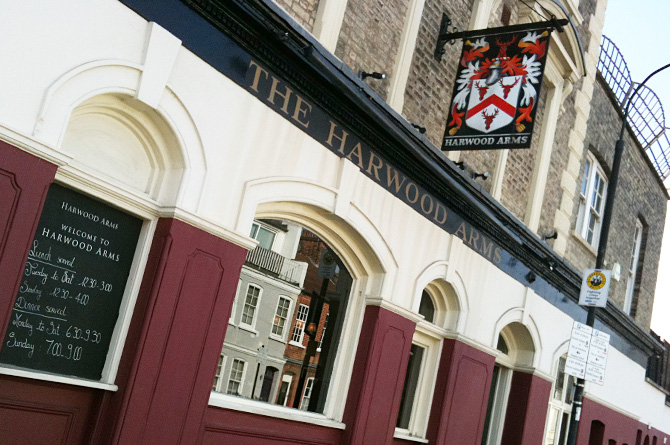 The Harwood Arms