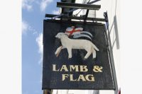 The Lamb and Flag