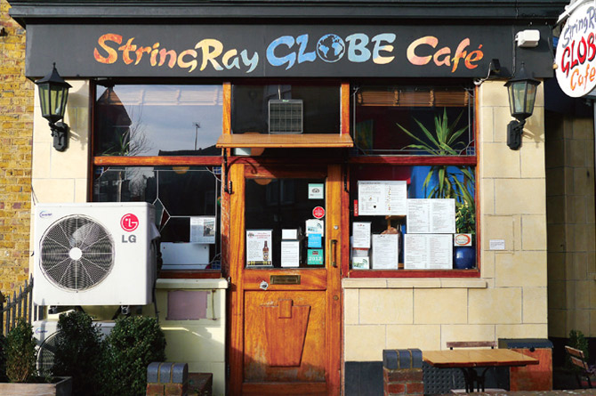 StingRay Globe Cafe