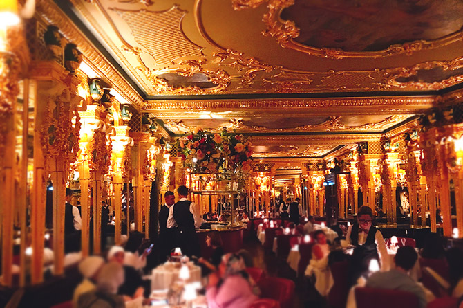 Oscar Wilde Lounge, Hotel Café Royal
