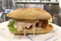 チキンと牡蠣のサンドイッチ