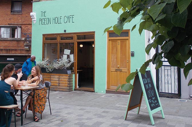 The Pigeon Hole Cafe